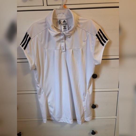 adidas Tops - Clima 365 Adidas women s golf sport shirt XL white 86f675fa9e